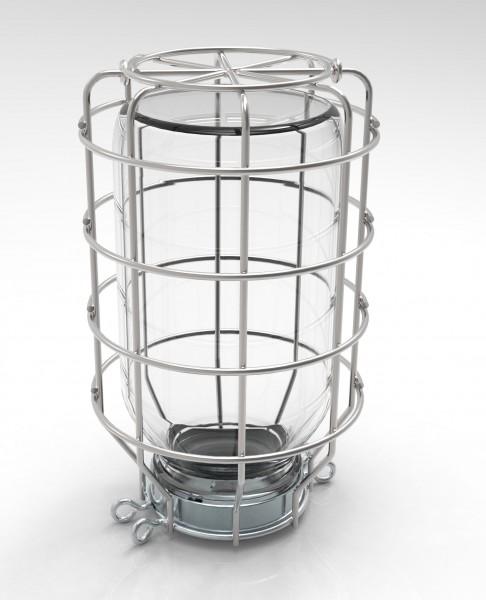 Schutzkorb 500 ml mit Befestigungsschrauben